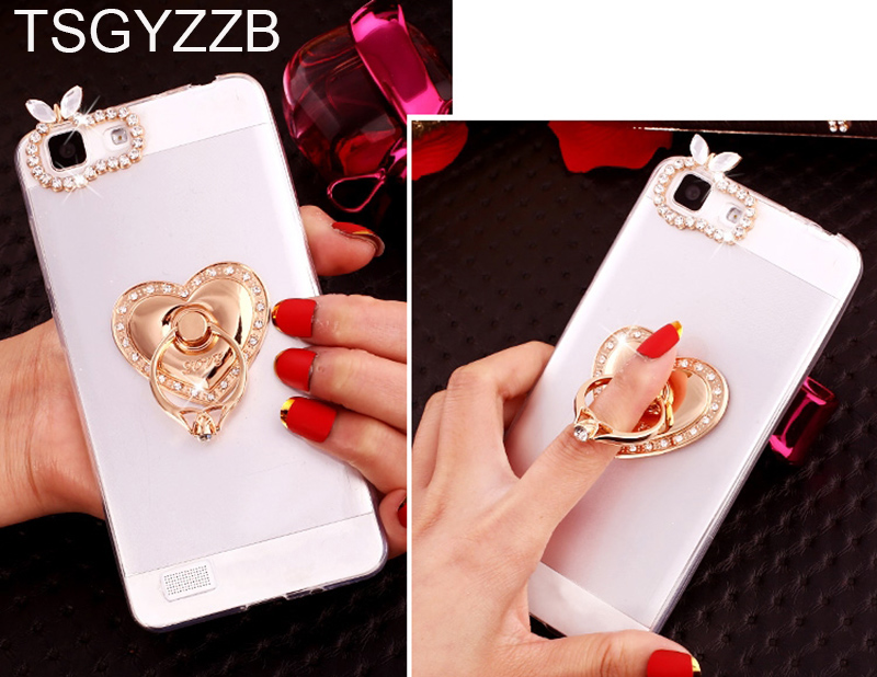 Fashion Bling Clear Soft Phone Case