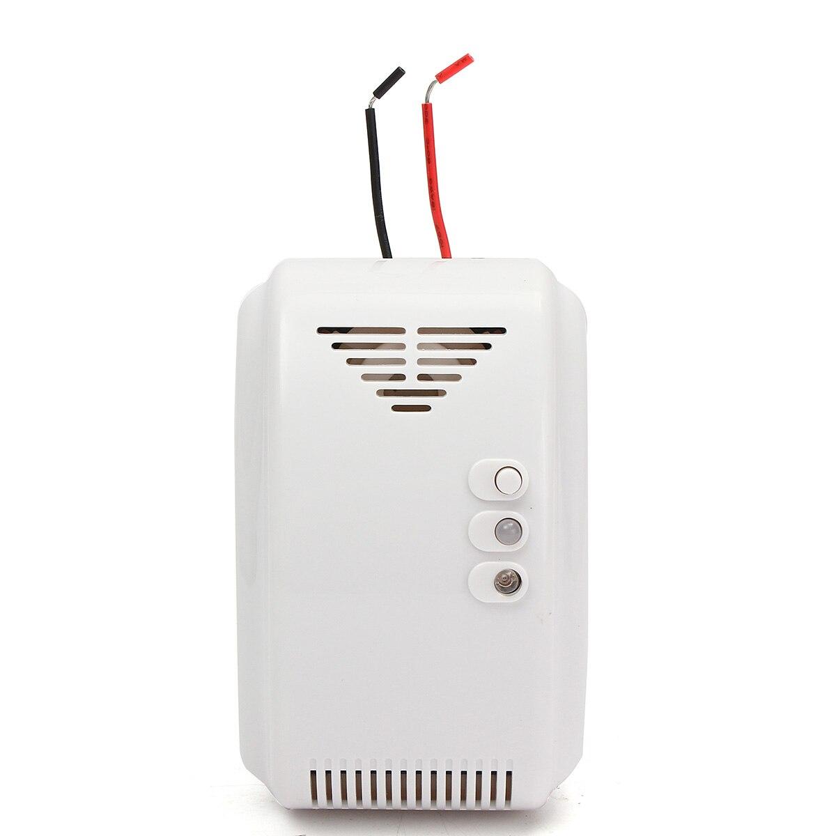 12 V Fuite De Gaz Combustible GPL Détecteur De Gaz Naturel Propane Alarme Pour RV Van Bateau Accueil Système D'alarme de Sécurité
