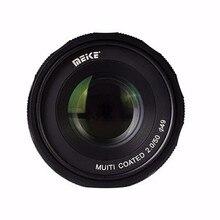 Meike MK-FX-50-2.0 50mm f2.0 Large Aperture Manual Focus lens APS-C For Fujifilm Mirrroless cameras