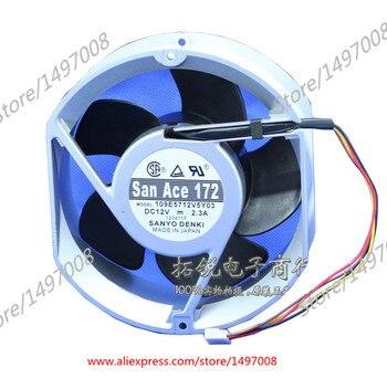 Sanyo Denki 109E5712V5Y03  DC 12V 2.3A 170x160x50mm Server Cooling Fan