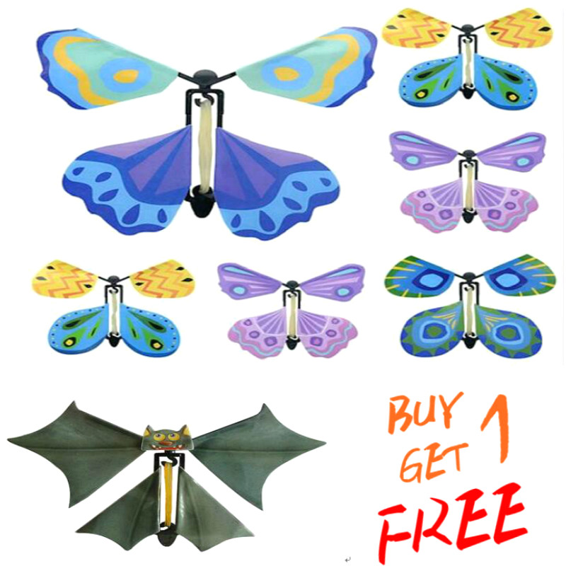 Magic Fly Butterfly Toys Magic Toys Props Magic Tricks Change Hands Funny Prank Joke Mystical Fun Classic Toy Surprise Gift