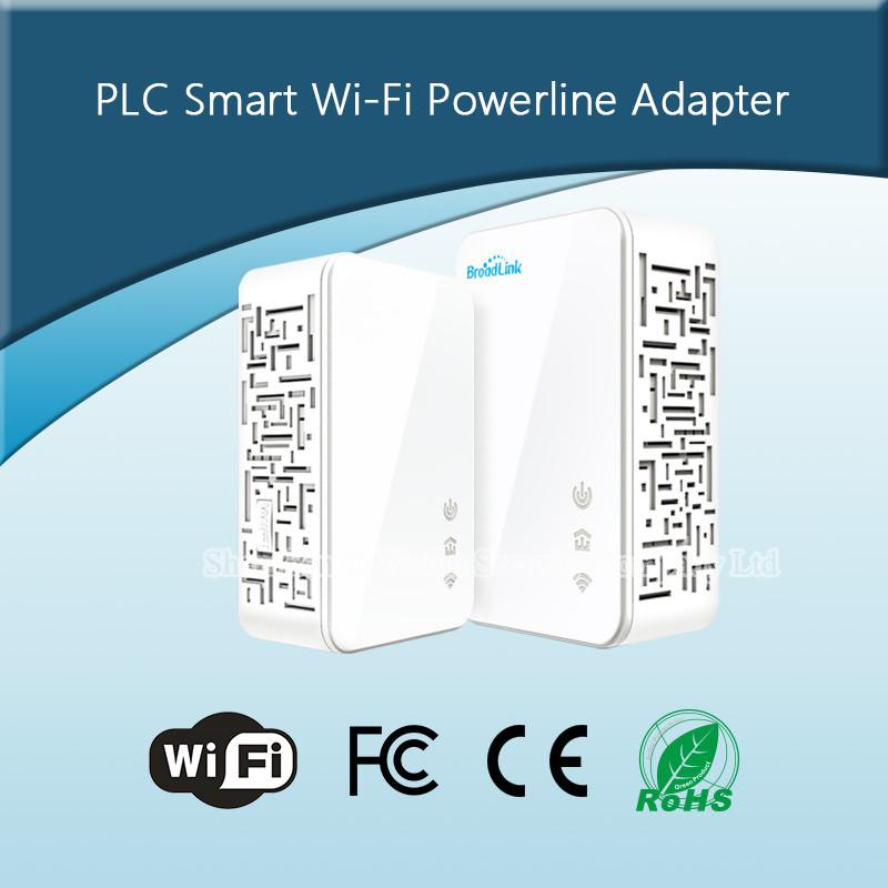 5-UKEUCN Broadlink DNA 200M Wireless WIFI Router Powerline Carrier Extend Wireless Smart Router WIFI Range Extender Automation