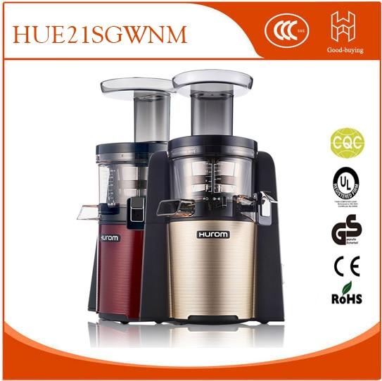 2nd Generation 100 Original HUROM HUE21SGWNM Slow Juicer Fruit Vegetable Citrus Low Speed Juice Extractor Made