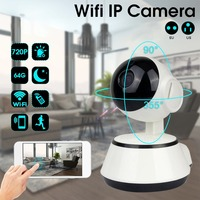 LESHP Baby Monitor Wifi IP Camera 720P HD Smart IP Camera Two Way Talk Audio Record Camera Home Security Camera Night Vision