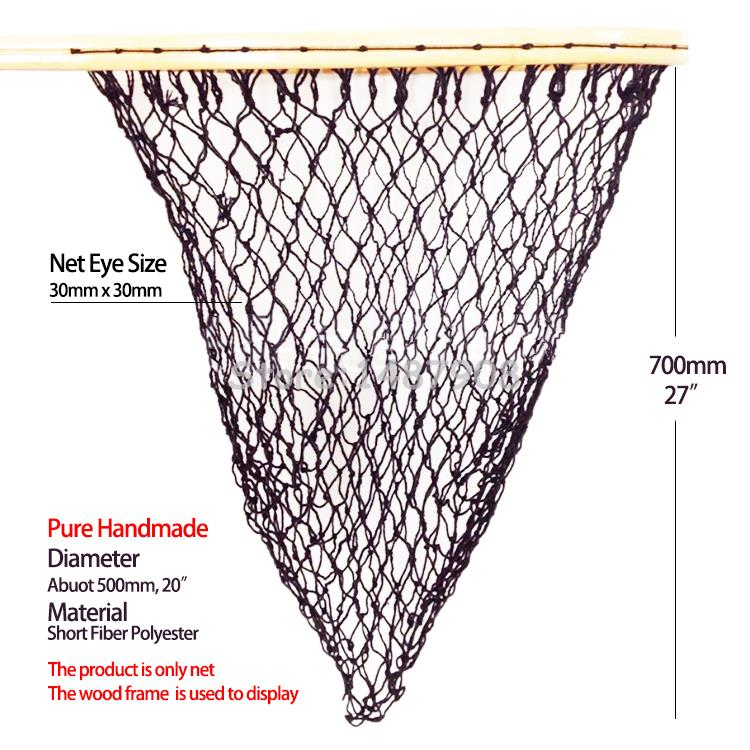 Popular handmade nets buy cheap handmade nets lots from for Replacement fishing net
