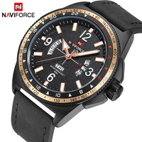 NAVIFORCE TOP Luxury Brand Men Fashion Sports Watches Men S Quartz Date Clock Man Leather Military