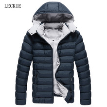 2016 winter jacket men new Slim jacket men jacket men thick padded zipper fashion casual Slim men's jackets