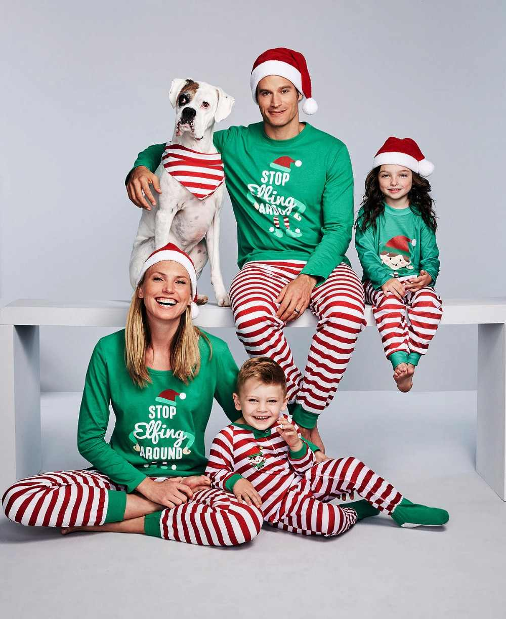 d9ff19540b52 Detail Feedback Questions about Family Christmas Pajamas Set Family ...