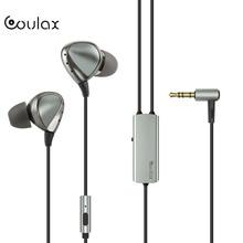Coulax NEW HiFi проводные наушники интеллектуальные активного шумоподавления наушники высокого качества звука встроенный аккумулятор