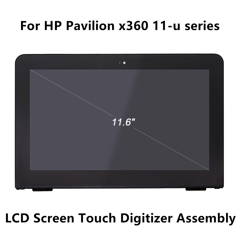 11.6''LCD Screen Display Touch Panel Glass Digitizer Assembly+Frame For HP Pavilion x360 11-u112tu 11-u004na 11-u005tu 11-u015la стоимость