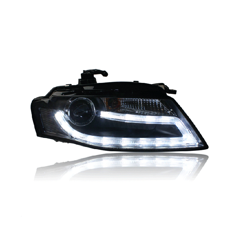 Ownsun New Eagle Eyes LED DRL Bi-xenon Projector Lens Headlights For Audi A4L 2009-2012 david parmenter key performance indicators developing implementing and using winning kpis