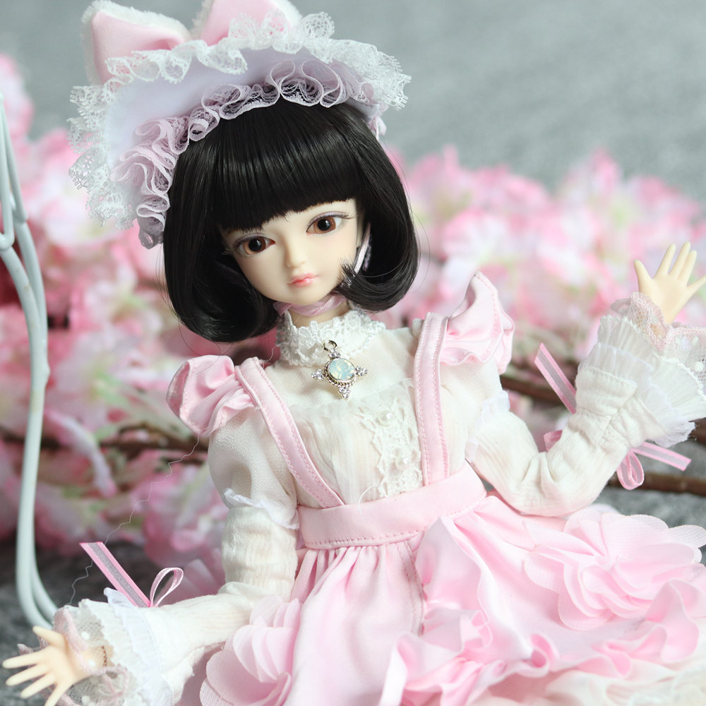 1 4 BJD Blyth doll No 9 kinds of hair Joint Body With makeup Including scalp