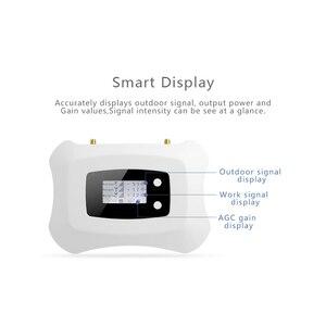 Image 2 - 4G מגבר אות האינטרנט 70dB רווח 2G קול סלולארי מהדר LTE 1800MHz 4G נייד איתותים משחזר נייד אות מגבר