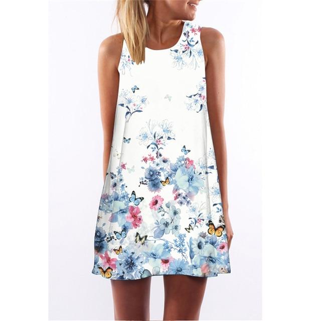 Summer Women Dress...