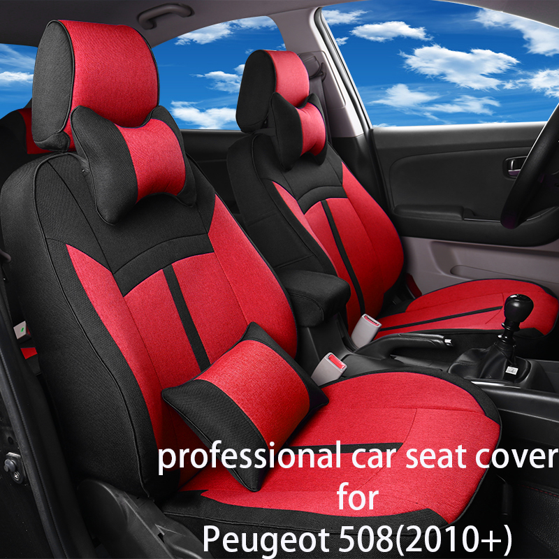 Legua Car Seat Cover Set For Peugeot 508(2010+) Water