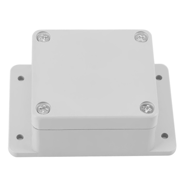 1Set Waterproof Terminal Box IP65 4 Sizes ABS Enclosure Instrument Case Outdoor Junction Box Electrical Project Connection Box