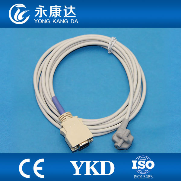Reusable spo2 sensor for  pediatric soft tip,  14pin/3mReusable spo2 sensor for  pediatric soft tip,  14pin/3m