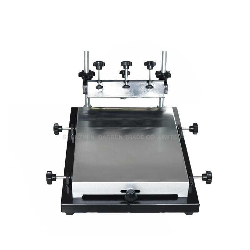 1pc single color screen printer T-shirt screen printing machine 24*30cm flat printing press fellowes а4 fs 53061 пленка для ламинирования 80 мкм 100 шт page 6