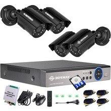 DEFEWAY 8CH 1200TVL 720 P HD Überwachungskamera-system 1080N Home Videoüberwachung DVR Kit 1 TB mit Recharger batterie