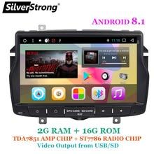 SilverStrong Android8.1 панель IPS русский для Лада Веста gps-навигатор, экран радио для Лада карты Navitel для России радиоприемник для Android автомобильный gps