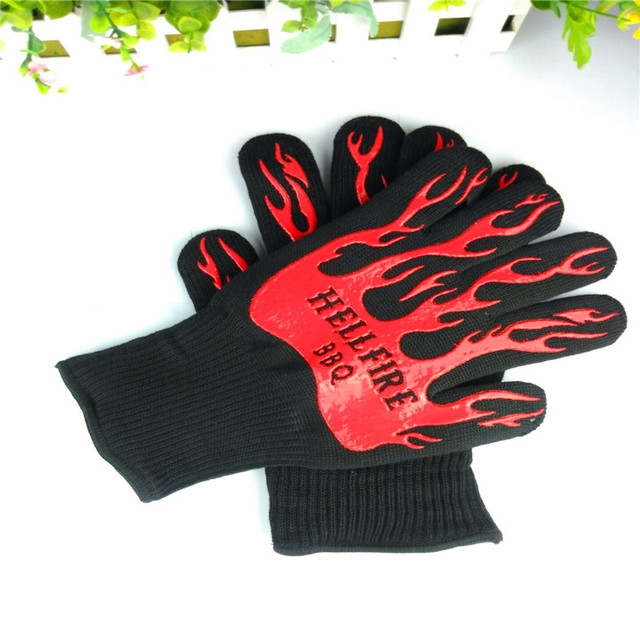 Cooking Gloves Heat Resistant Silicone Kitchen