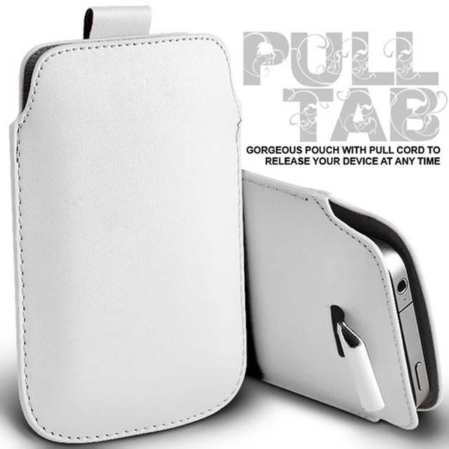 US $2 95 |Casteel PU Leather Case For Santin MBI R6 db D7 S6 N1 N1 MAX Pull  Tab Sleeve Pouch Bag Case Cover-in Phone Pouch from Cellphones &
