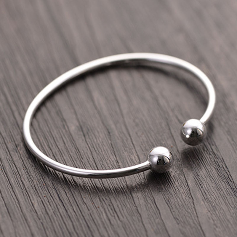 girls jewellery silver bangles sterling charm asp torque uk school ekm p braided bangle