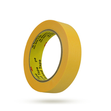 цена на 244 yellow textured paper high temperature masking tape 200 Degree For Car Baking paint Protection