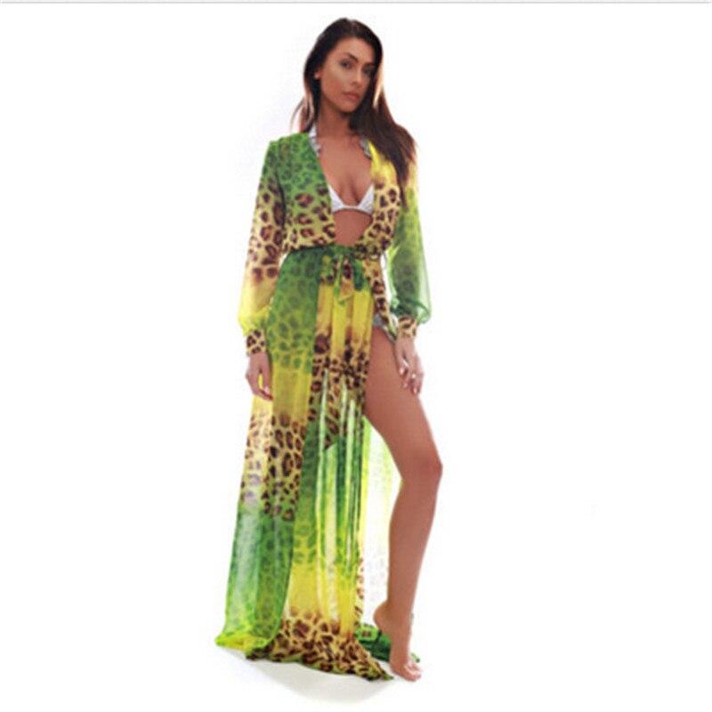 Леопардовое платья в пол фото