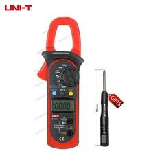 Бесплатная доставка UNI-T UT203 UT 203 Цифровой мультиметр зажим Ом DMM DC переменного тока Вольтметр 400A gB0636