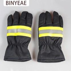 Luvas luvas de proteção Contra Incêndio de fogo retardador de Chama de isolamento fogo bombeiro equipamento de ventilação de equipamentos de incêndio