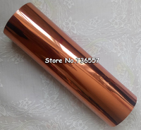 DIY Transfer Hot Stamping Paper High Quality Hot Selling Hot Foil Stamping Laser Bronze Color 160mmx120M