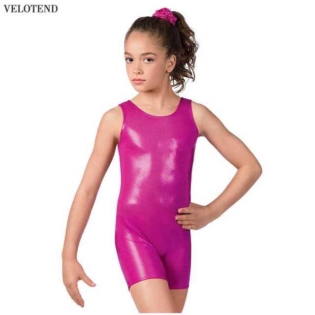 abd0e55fc 2018 Sale Dance Velotend Lycra Girl Body Suit Spandex Gymnastics ...