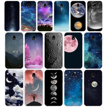 150SD Gradient Starry Sky Stars Moon Soft Silicone Tpu Cover phone Case for Samsung j3 j5 j7 2015 16 17 j2 j4 prime j6 Plus 2018(China)