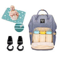 Mommy Maternity Diaper Bag Large Capacity Nappy Changing Bags Fashion Parents Travel Pack Waterproof Nursing Bag