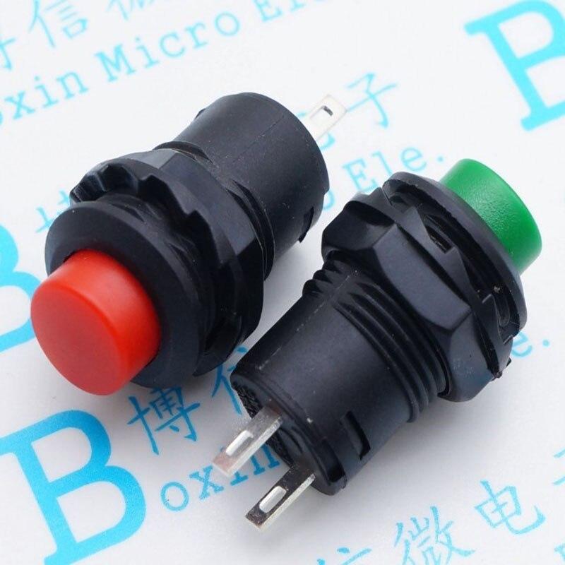 DS-428/425-a DS428 interrupteur à bouton cercle rouge verrouiller l'interrupteur de verrouillage