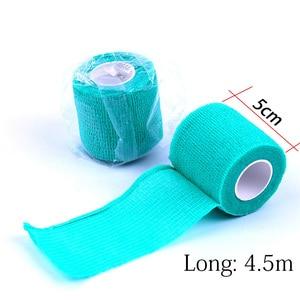 Image 2 - 10Pcs Waterdichte Beveiliging Zelfklevende Samenhangend Verband Elastische Wrap Ehbo Sport Body Gaas Dierenarts Medische Tape