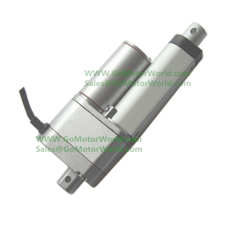 ФОТО 24V 50mm 2inch stroke 750N 165LBS load 10mm/s 0.4inch/s speed with Potentiometer POT signal feedback electric linear actuatorDB