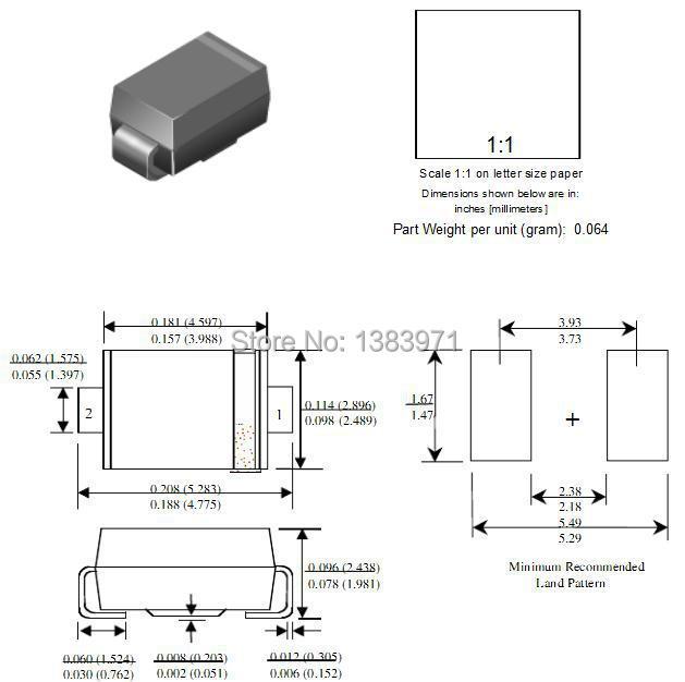 1N5819 SMA PDF