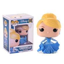 Funko pop Disney Cartoon Princess doll Cinderella Vinyl Action Figure Collectible Model Toys for Children Birthday gift(China)