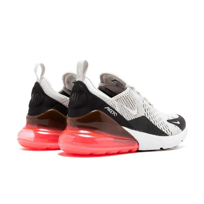Nike Air Max 270 รองเท้าวิ่งกีฬารองเท้าผ้าใบกลางแจ้งสบาย Breathable สำหรับผู้หญิง AH8050-003 36-39 EUR ขนาด