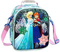 New Fashion Elsa Anna Princess Girls Thicker Portable Lunch Bags Students Cartoon Shoulder Bag Handbag Heat preservafor Children