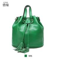 2017 Spring Autumn Winter Fashion Women Leather Handbags Retro Vintage Printing Large Ladies Leather Tote Bags