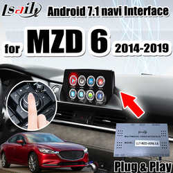 Android 7.1 interfejs multimedialny nawigacja GPS Box dla mazdy 6 .. 2014-2019 obsługa androida auto  carplay by Lsailt