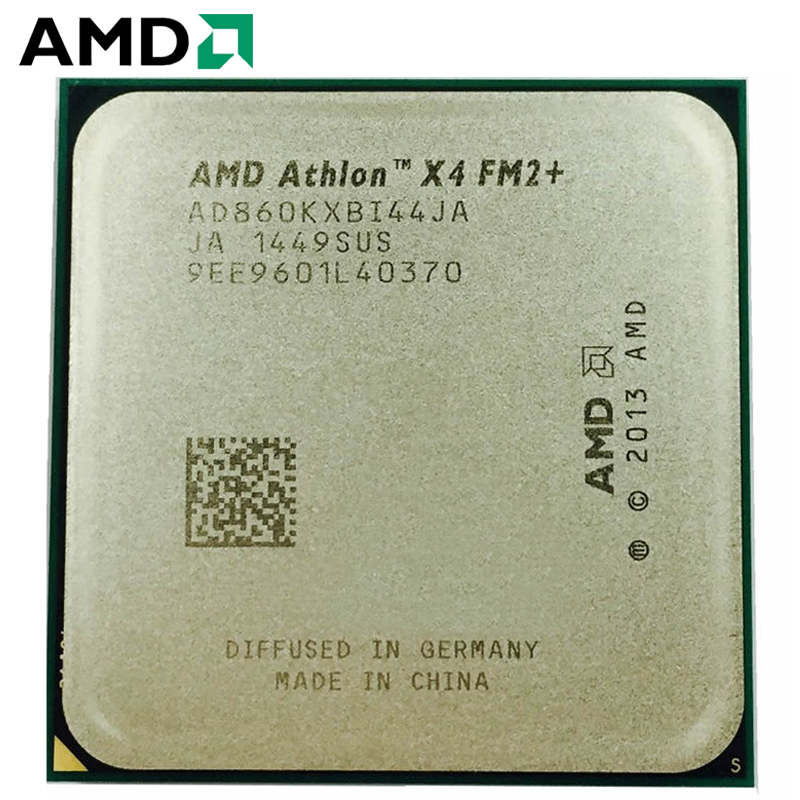 AMD Athlon X4 860K CPU PC Computer X860K Socket FM2+ 3.7 GHz Quad-Core 860 K Procesador 100% Working Desktop Processor