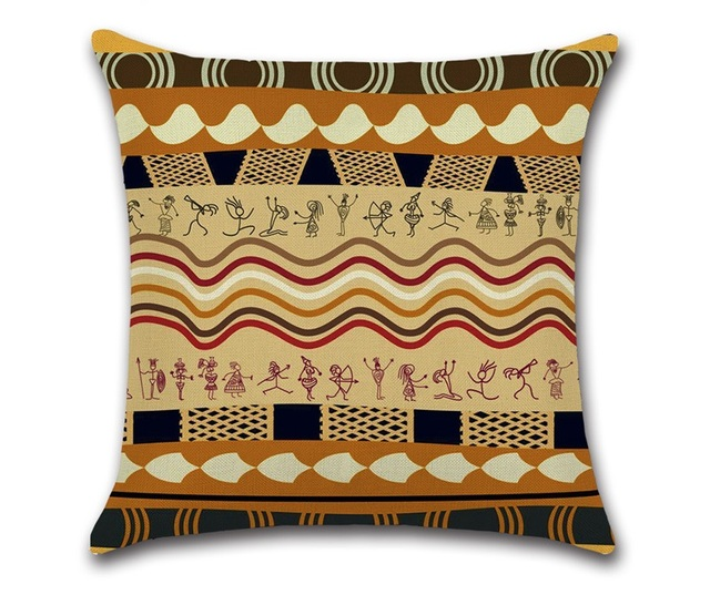 CAMMITEVER Vintage Indian Totem Mandala Floor Pillows Bohemian ...