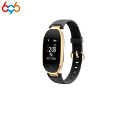 696 Bluetooth Waterproof Lady Smart Watch Fashion Women Ladies Heart Rate Monitor Fitness Tracker S3 Smart watch for Android IOS