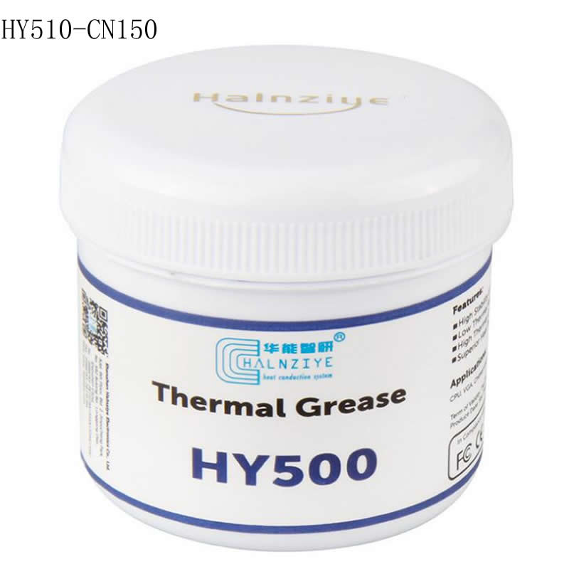Halnziye HY-500 HY510 CN150 150g 1.93W/mk gray thermal grease / CPU / graphics card thermal paste / big bottled