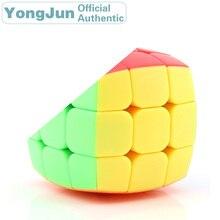 YongJun mini 3x3x3 Magic Cube YJ 3x3 Cubo Magico Professional Neo Speed Puzzle Antistress Fidget Educational Toys For Children yongjun diamond symbol 3x3x3 magic cube yj 3x3 professional neo speed puzzle antistress fidget educational toys for children