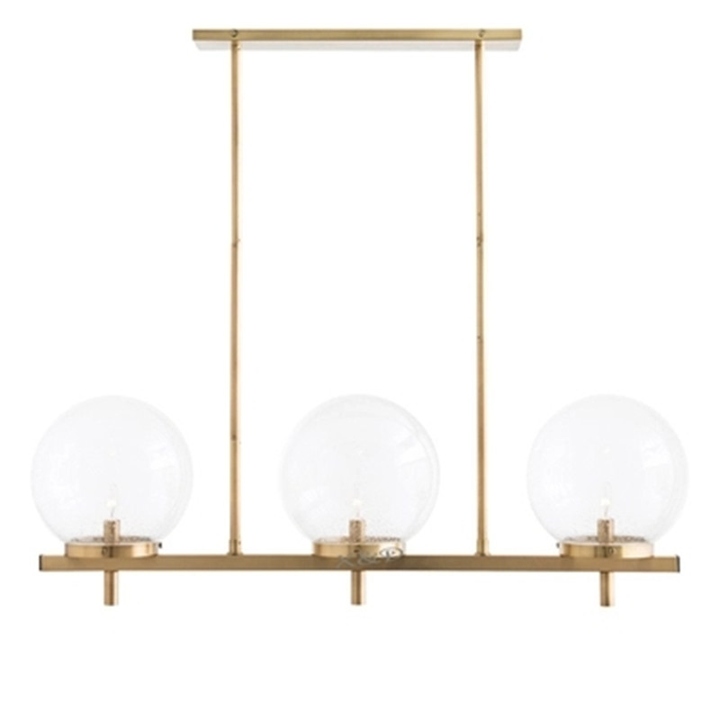 American simple postmodern simple creative personality metal glass ball pattern designer living room dining room chandelier ledream contracted and creative personality sitting room dining room art glass chandelier american cherry branches pendent lamp